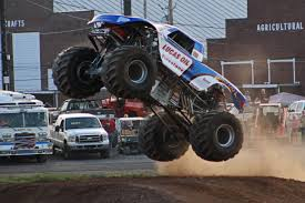 monster truck show indianapolis surprises and rookies to compete for 4 wheel jamboree titles all
