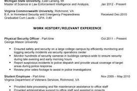 Military Intelligence Resume Military Veteran Resume Examples Job Search Strategies Executive