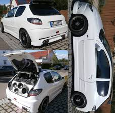 peugeot 206 tuning peugeot 206 rc gti 180 tuning 99 photos cars