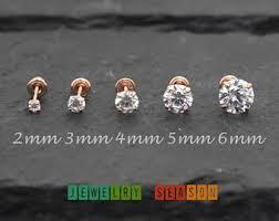 gold back earrings back earrings etsy
