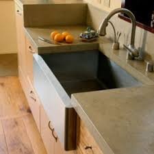 Concrete Kitchen Sink by Sinks Mark Concrete
