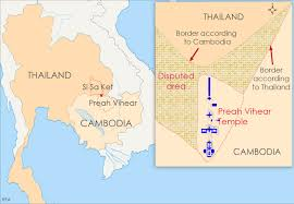 Thailand Map In World Map by Cambodia Accused Of Doctoring Maps In Temple Dispute