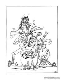 monsters u0027 magic potion coloring pages hellokids com