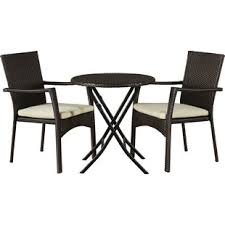 outdoor cafe table and chairs modern outdoor bistro tables allmodern