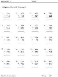25 best 3 digit math images on pinterest math activities second