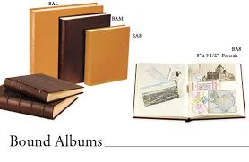 bound photo albums leather bound albums personalized photo albums