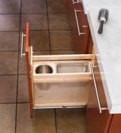 Bathroom Cabinet Shelf by Rev A Shelf Cabinet Pullout Grooming Organizer For Bathroom Vanity