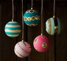 glitterville patterned ball ornaments dolly holiday pinterest