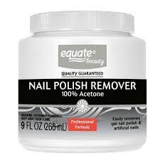 equate beauty 100 acetone nail polish remover 9 fl oz walmart com