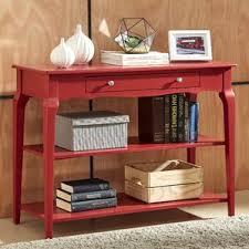 red console u0026 sofa tables you u0027ll love wayfair