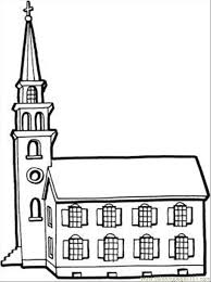 church coloring pages free printable coloringstar