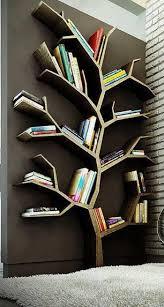 build your own tree shaped bookshelf