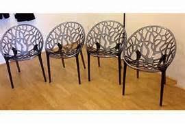 design stehle klassiker designer stühle klassiker design st hle 4 st ck acryl nature