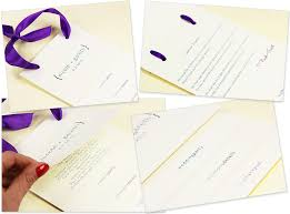 where to print wedding programs tiered wedding program with ribbon handle lci paper