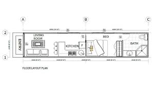 House Floorplans Shipping Container Homes Plans Home Floorplans 14 25 House Green
