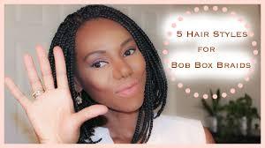 utube bump hair in a bob box braids bob hairstyles fade haircut