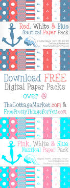 Scrapbook Paper Packs Free Nautical Digital Scrapbooking Paper Pack Part 1 The Cottage