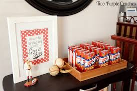 baseball baby shower baseball themed baby shower two purple couches