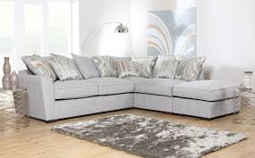 grey fabric corner sofa ravel fabric sofa range