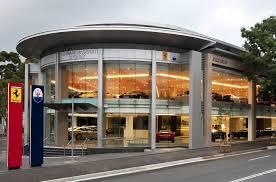 lamborghini showroom building ausmotive com ferrari maserati sydney open new showroom
