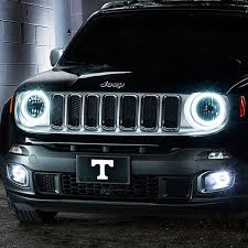 halo light installation near me oracle lighting jeep renegade 2015 2018 color halo kit for headlights