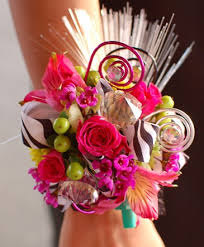 prom flowers mixed flowers zebra corsage prom flowers in bowerston oh