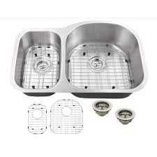 IPT Sink Company Undermount  In Gauge Stainless Steel - Brushed stainless steel kitchen sinks