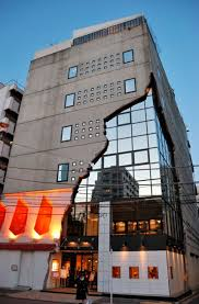 cool building designs the ebisu east art gallery building in tokyo looks absolutely