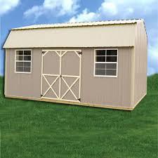 Z Barn Simpco Portable Buildings Z Metal Derksen Side Lofted Barn Utility