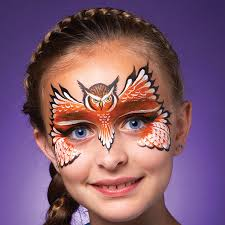 halloween paintings ideas an owl mask is the perfect accessory for halloween http www