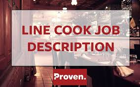 Job Description Of A Line Cook For Resume by The Perfect Line Cook Job Description