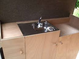 c sink with foot pump mercedes sprinter conversion the py cer cervan life