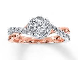 kay jewelers diamond engagement rings engagement rings diamond engagement ring 1 ct tw round cut 14k