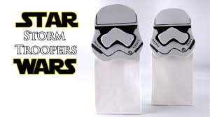 wars gift bags diy trooper gift bag wars how to make a