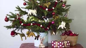 christmas tree themes 3 easy christmas tree themes real simple youtube