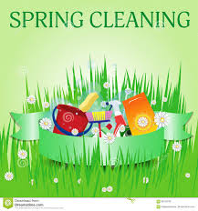Spring Cleaning by Spring Cleaning Poster Template For Services Vector Stock Vector
