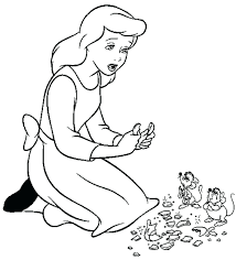 cinderella colouring pictures free coloring pages images printable