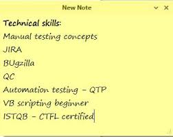 Qa Manual Tester Sample Resume by The Beginner U0027s Guide To Writing A Perfect Software Testing Resume