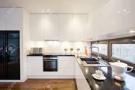 refrigerator in kitchen impressive home design