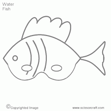 fish bass coloring printable pages seahorse pictures