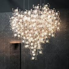 diamond chandelier studio drift fragile future diamond chandelier 2016 lighting