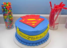 Superman Birthday Party Decoration Ideas Superhero Birthday Party Ideas A Party Studio