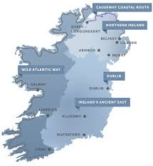 Cape Air Route Map by Ireland Vacations In Ireland U2013 Official Vacation Website Of