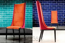 sempre contemporary high back dining chair by costantini pietro