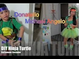 Ninja Turtle Halloween Costume Girls Diy Ninja Turtle Halloween Costume 2014 Alyssafaye