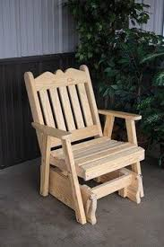 Gliding Adirondack Chairs Outdoor Furniture Glider Gliders Swings And Woodworking