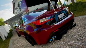 lexus rc rocket bunny forza horizon 3 lexus rc f rocket bunny montage youtube