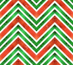 green christmas wrapping paper seamless retro geometric pattern with zigzag lines green and