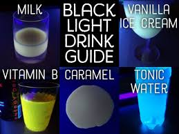 liquids that glow under black light how to make drinks that glow in the dark delishably