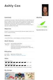 Resume Examples For Bartender by Server Bartender Resume Samples Visualcv Resume Samples Database